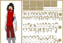Naruto Character Creator Gameplay