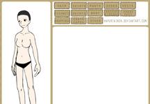 Naruto Character Creator Title Screen