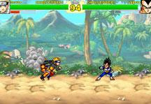 Dragon Ball Z vs Naruto CR Vegeta Gameplay