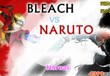 Bleach vs Naruto 2.6 Title Screen