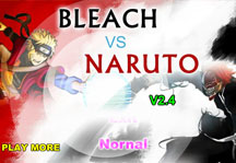 Bleach vs Naruto 2.4 Title Screen