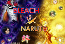 Bleach vs Naruto 3.2 Title Screen
