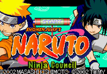 Naruto Ninja Council Title Screen