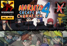 Naruto Create a Character 4 Title Screen
