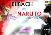 Bleach vs Naruto 2.0 Title Screen