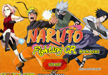 Naruto Fighting CR Kakashi Title Screen