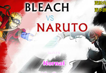 Bleach vs Naruto 1.7 Title Screen