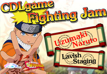 Anime Fighting Jam Title Screen