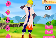 Naruto Dress Up 2 Gameplay