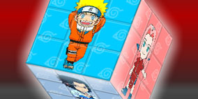 Naruto 3D Cube