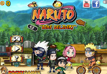 Naruto Bike Delivery Title Screen