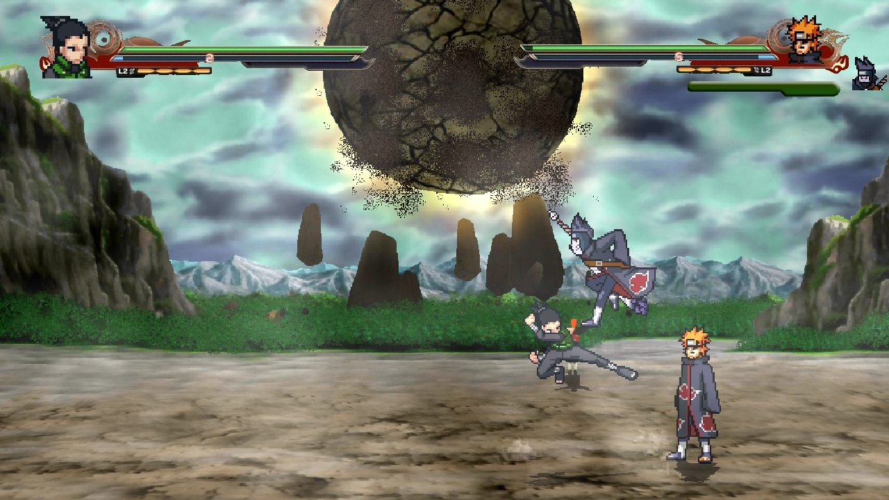naruto ninja council 2 how to use special moves