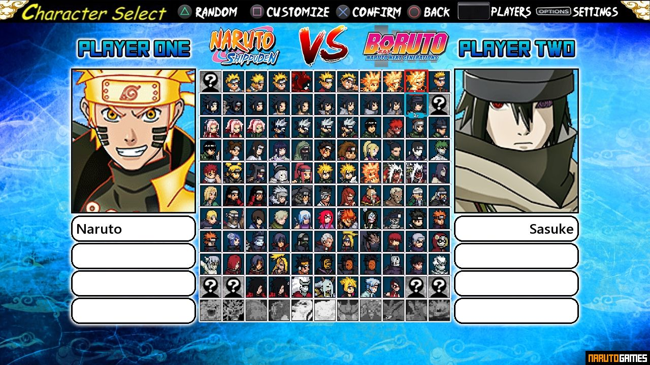 Naruto Konoha Legends Mugen 5 - Download - NarutoGames co
