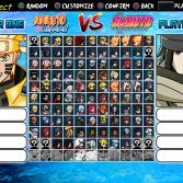 Naruto Konoha Legends Mugen 5 - Screenshot