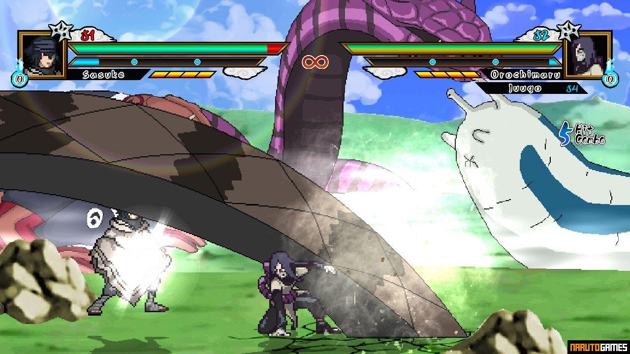Naruto Konoha Legends Mugen 5 - Download - NarutoGames co