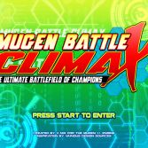 Naruto Battle CLIMAX Mugen - Screenshot