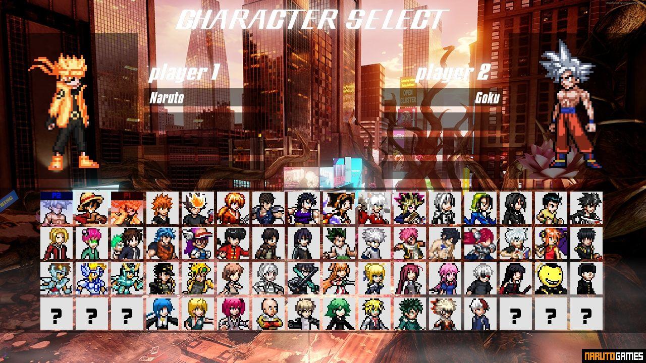 Jump Force Mugen - Download - NarutoGames co