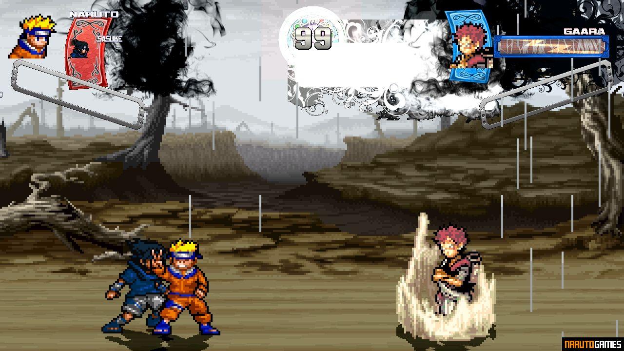 Naruto Rise of a Ninja Mugen - Download - NarutoGames co