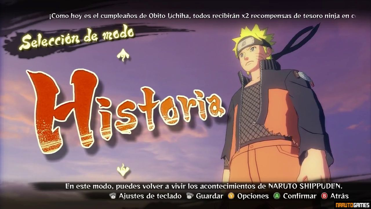 Naruto Shippuden Ultimate Ninja Storm 4 Mugen - Download