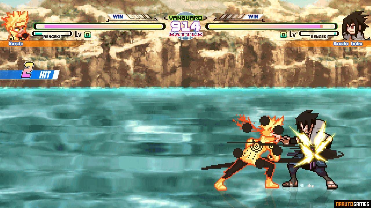 Naruto Shippuden Struggle Ninja NZC Mugen - Download