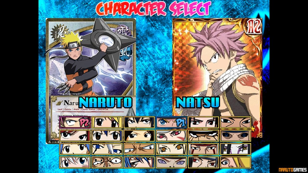 Fairy Tail x Naruto Mugen - Download - NarutoGames co