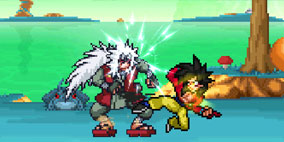 Dragon Ball x Naruto Storm Budokai Mugen