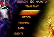 Bleach vs Naruto 3.1 Title Screen