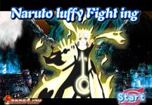 Naruto vs Luffy Title Screen