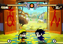 Naruto Mini Battle Gameplay