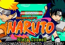 Naruto Ninja Council Title Screen