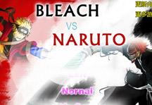 Bleach vs Naruto 1.8 Title Screen