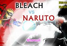 Bleach vs Naruto 2.0 Title Screen