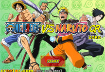 One Piece vs Naruto CR Zoro Title Screen