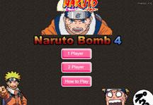 Naruto Bomb Title Screen