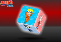 Naruto 3D Cube Gameplay