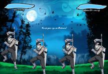 Zabuza Shadow Clone Gameplay