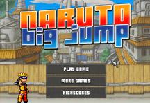 Naruto Big Jump Title Screen