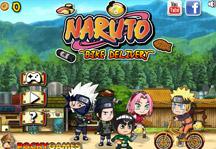 Naruto Bike Delivery Title Screen